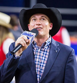Andy Seiler Rodeo Announcer